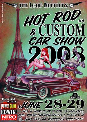Loud Mufflers Hot Rod & Custom Car Show - Kustomrama