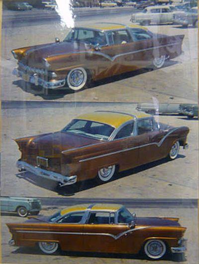 Bill Burnett's 1955 Ford - Kustomrama