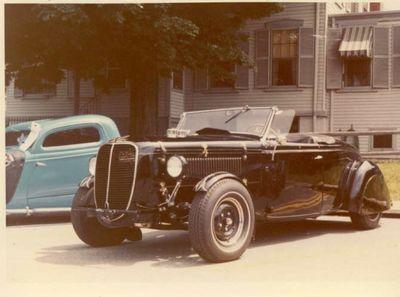 Sebastian Rubbo's 1936 Ford - Kustomrama