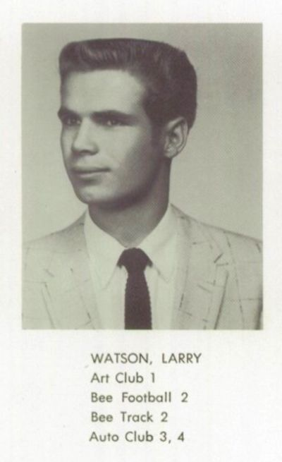a4cd1a6b4d1 A photo of Larry from the 1957 Bellflower High School Yearbook. Photo  courtesy of Classmates.com.